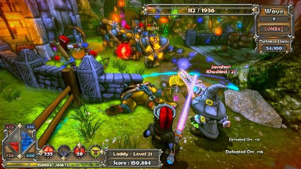 Dungeon Defenders Torrent Download