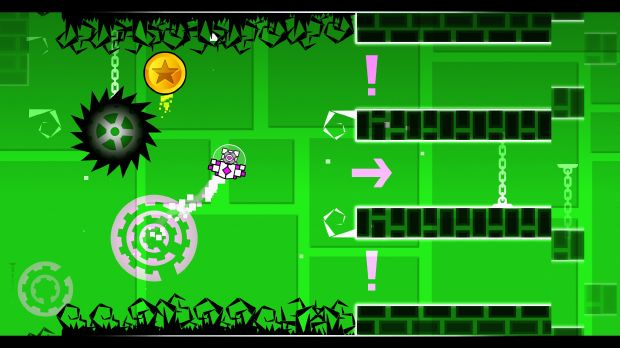 Geometry dash meltdown is an expansion app of geometry dash developed