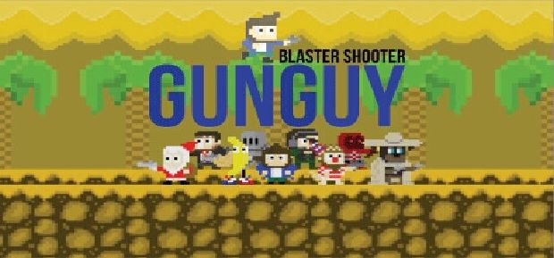 Blaster Shooter GunGuy! Free Download