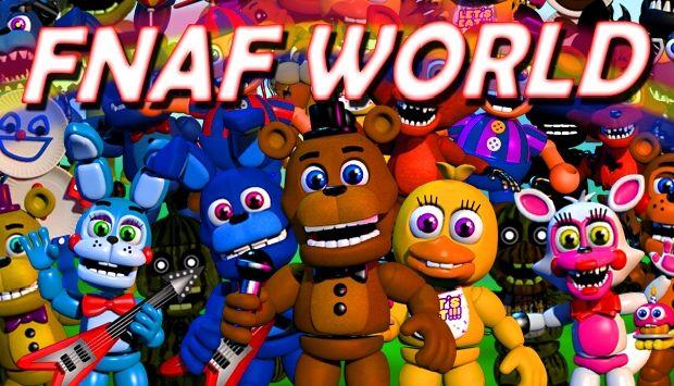 Fnaf world 2.0 download