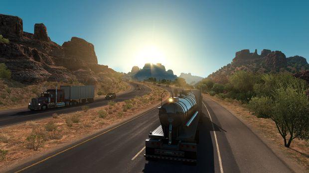 American Truck Simulator - Arizona PC Crack