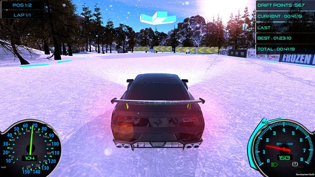 Frozen Drift Race Torrent Download