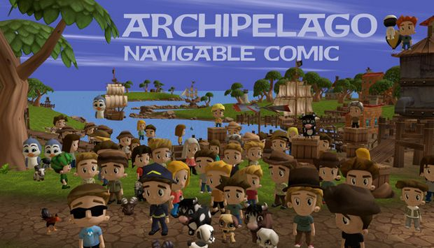 Archipelago: Navigable VR Comic Free Download