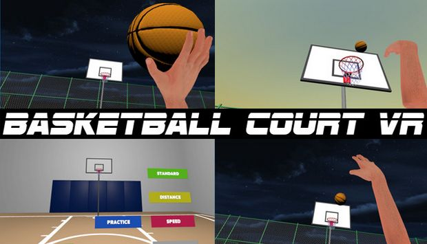 Basketball Court VR Free Download