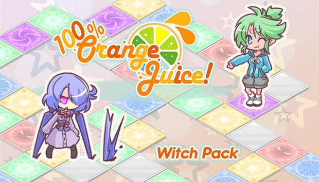 100 Orange Juice - Witch Pack Free Download