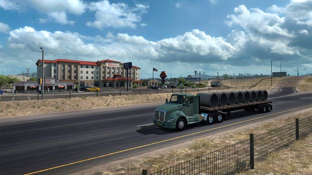 American Truck Simulator - New Mexico PC Crack