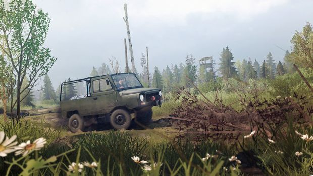 Spintires: MudRunner - The Valley DLC PC Crack