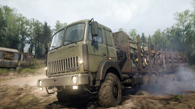 Spintires: MudRunner - The Valley DLC Torrent Download
