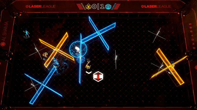 Laser League PC Crack