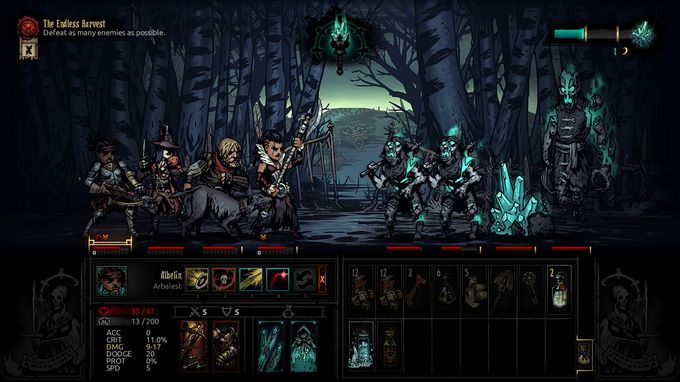 Darkest Dungeon®: The Color Of Madness PC Crack