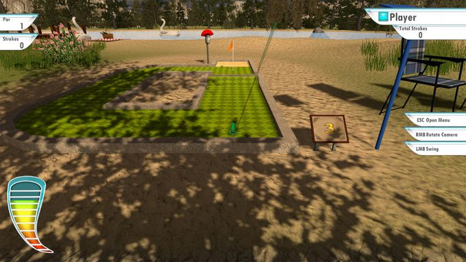 3D MiniGolf PC Crack