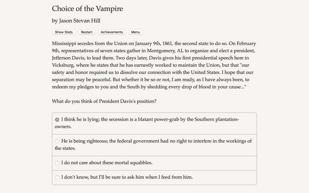 Choice of the Vampire Torrent Download