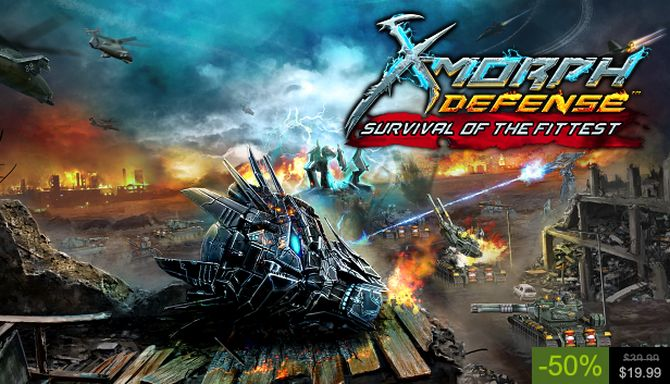 X-Morph: Defense - Survival Of The Fittest Free Download