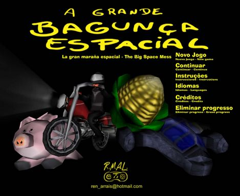 A grande bagunça espacial - The big space mess Torrent Download