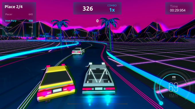 Driftpunk Racer PC Crack