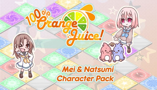 100 Orange Juice - Mei and Natsumi Character Pack Free Download