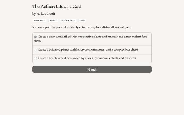 The Aether: Life as a God Torrent Download