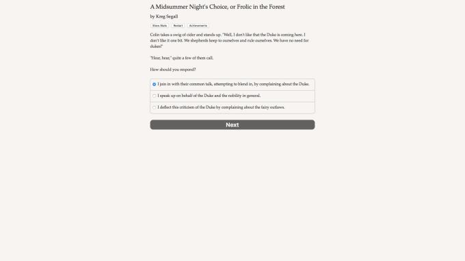 A Midsummer Night's Choice Torrent Download