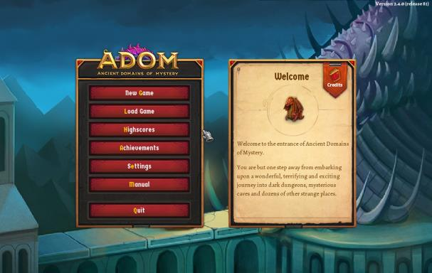 ADOM (Ancient Domains Of Mystery) PC Crack