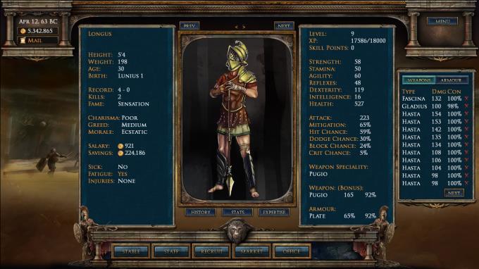 Age of Gladiators PC Crack