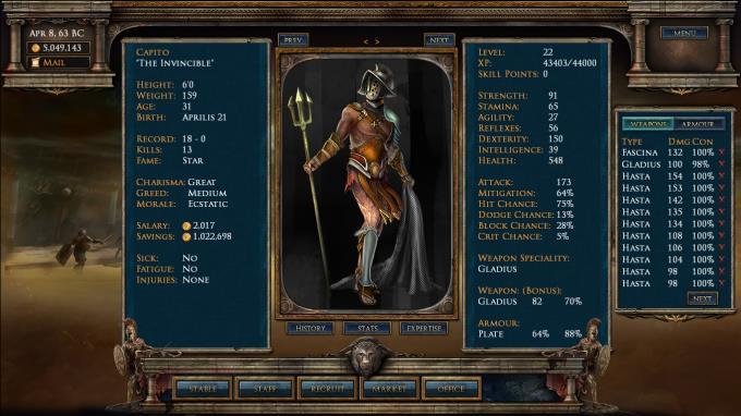 Age of Gladiators Torrent Download