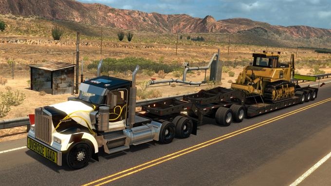 American Truck Simulator - Heavy Cargo Pack PC Crack