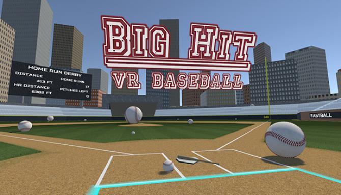 Big Hit VR Baseball Free Download