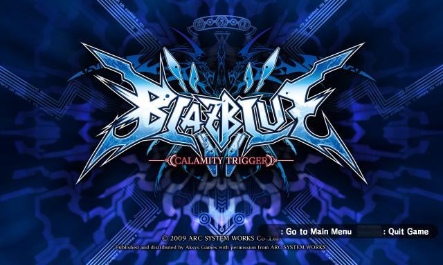 BlazBlue: Calamity Trigger Torrent Download