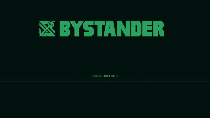 Bystander PC Crack