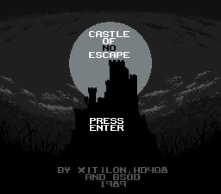 Castle of no Escape PC Crack
