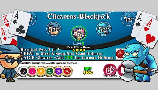 Cheaters Blackjack 21 Free Download