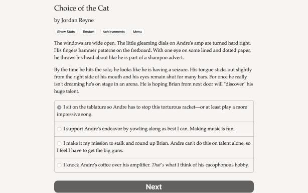 Choice of the Cat Torrent Download