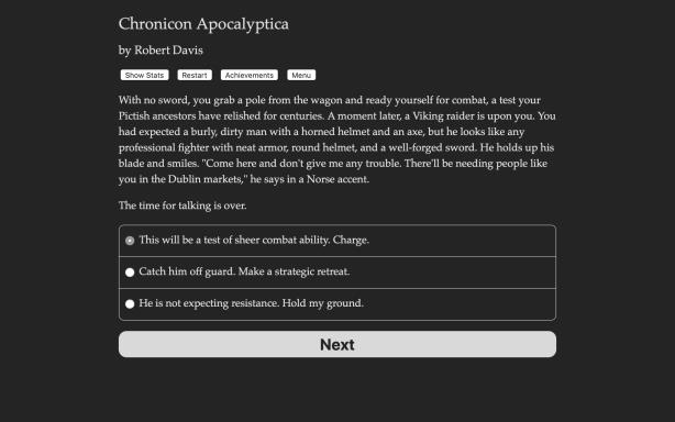 Chronicon Apocalyptica PC Crack