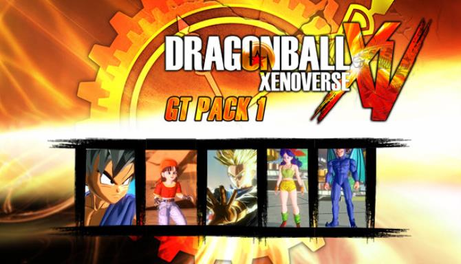 DRAGON BALL XENOVERSE GT Pack 1 Free Download