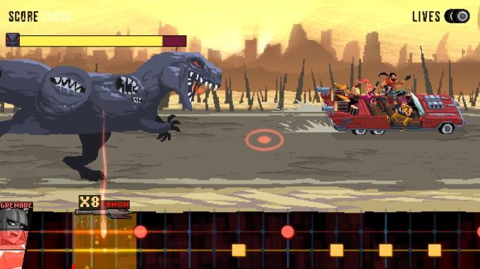 Double Kick Heroes PC Crack