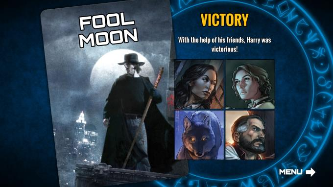 Dresden Files Cooperative Card Game PC Crack