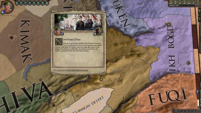 Expansion - Crusader Kings II: Jade Dragon PC Crack