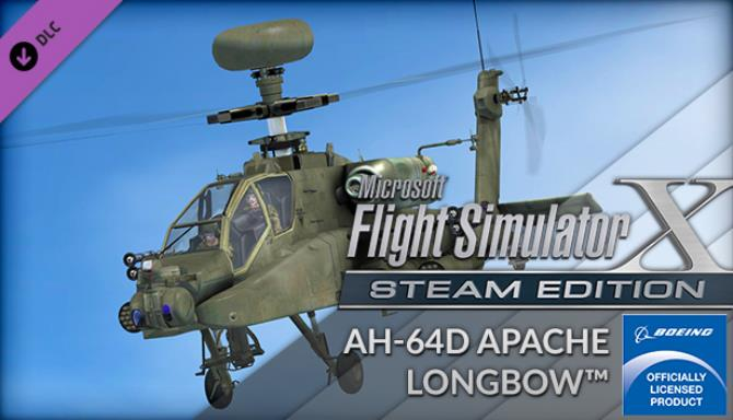 FSX Steam Edition: AH-64D Apache Longbow™ Add-On Free Download