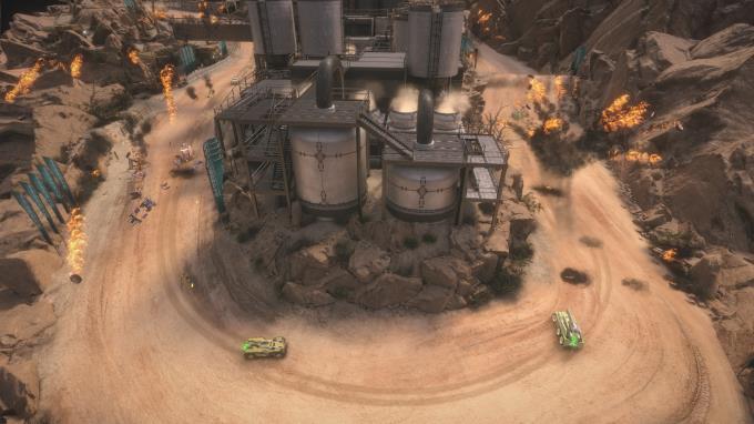 Mantis Burn Racing® - Battle Cars PC Crack