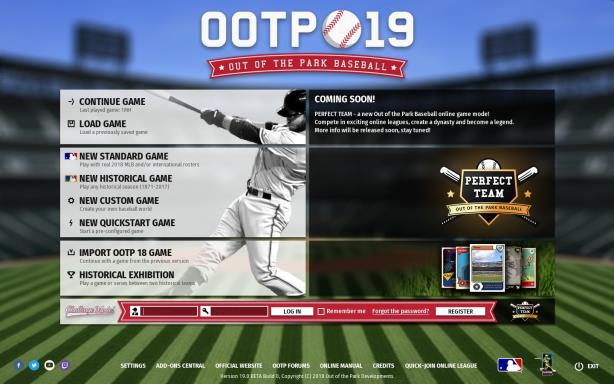 Out of the Park Baseball 19 Update v19 14 136 Torrent Download