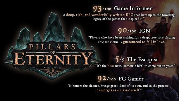 Pillars of Eternity Torrent Download