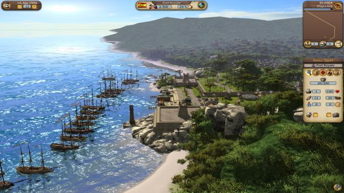 Port Royale 3 Gold PC Crack