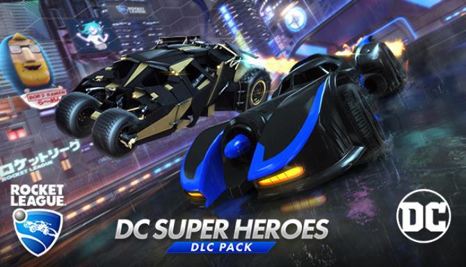 Rocket League® - DC Super Heroes DLC Pack Free Download