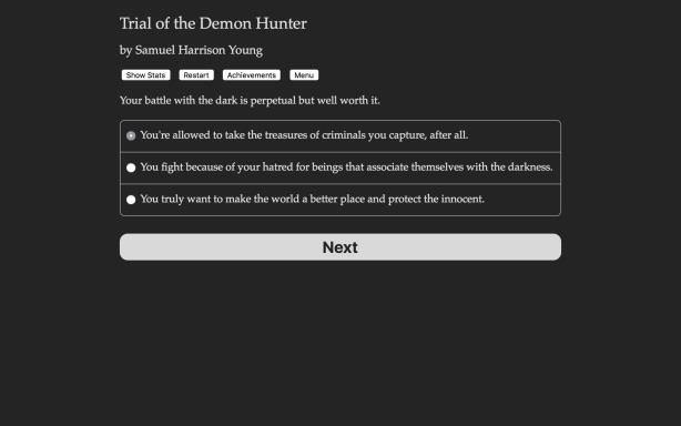 Trial of the Demon Hunter PC Crack