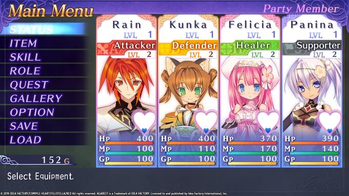 Record of Agarest War Mariage Update v20190206 PC Crack