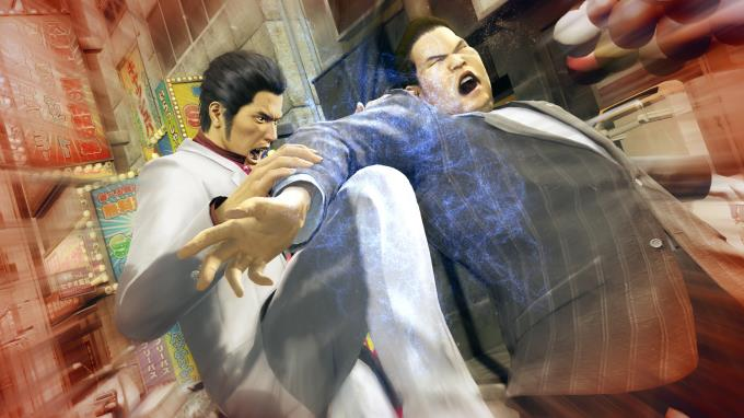 Yakuza Kiwami Update v4 PC Crack