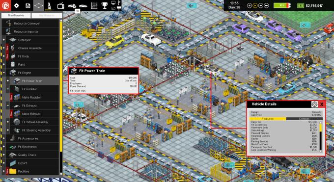 Production Line : Car factory simulation Torrent Download