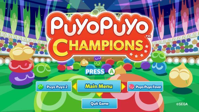 Puyo Puyo Champions PC Crack