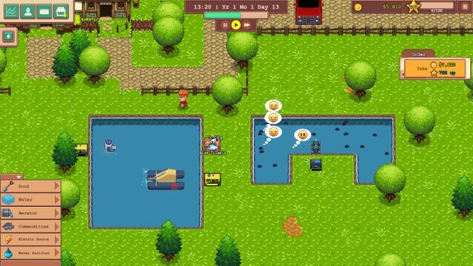 Aquaculture Land PC Crack