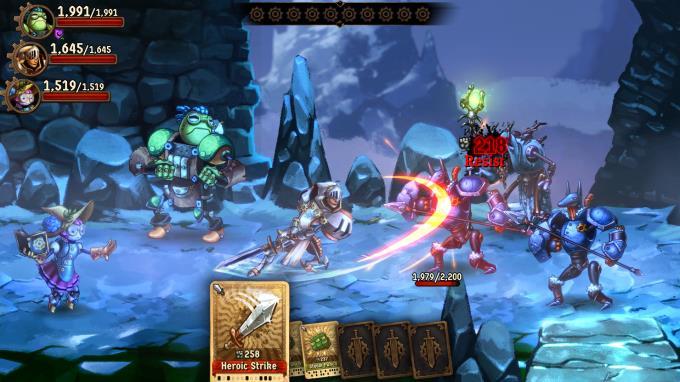 SteamWorld Quest Hand of Gilgamech Update v20190617 Torrent Download